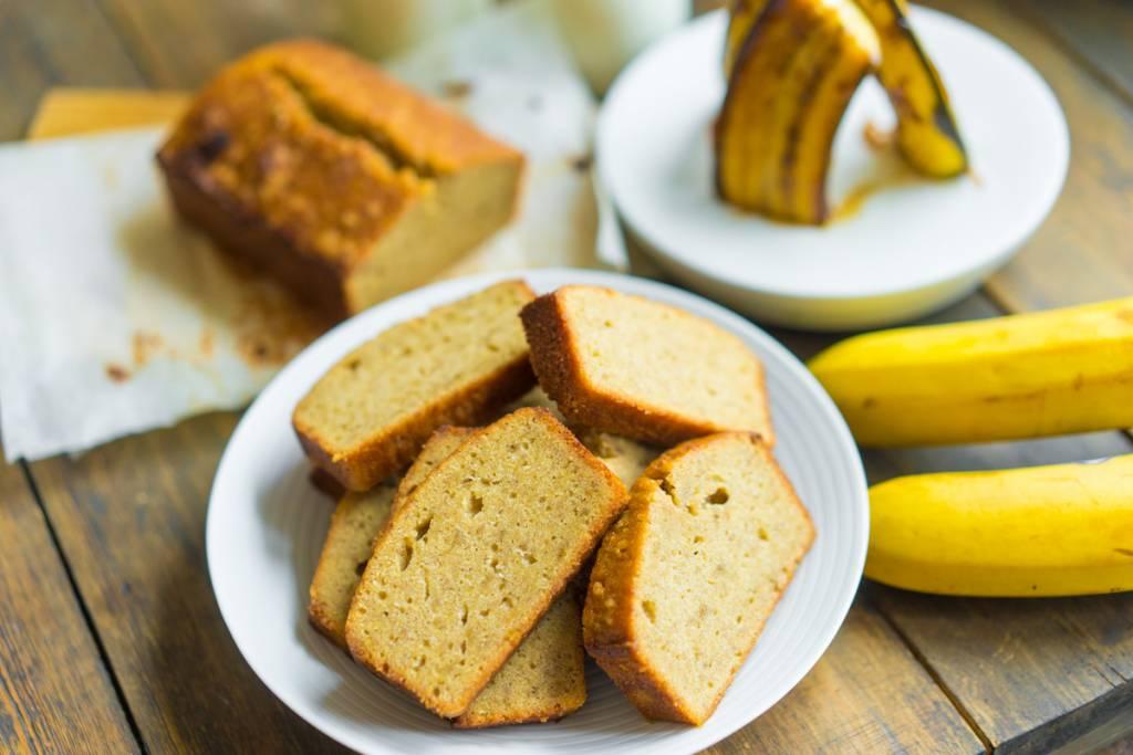 Осенние рецепты - банановый хлеб