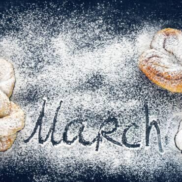 Гастрономические подарки к 8 марта
