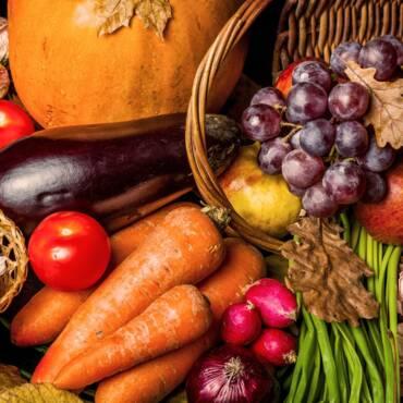 Сезонные продукты сентября